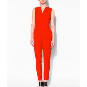 BB DAKOTA Keegan Cut-Out Crepe Jumpsuit